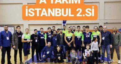 Basketbol Takımımız İstanbul İkincisi