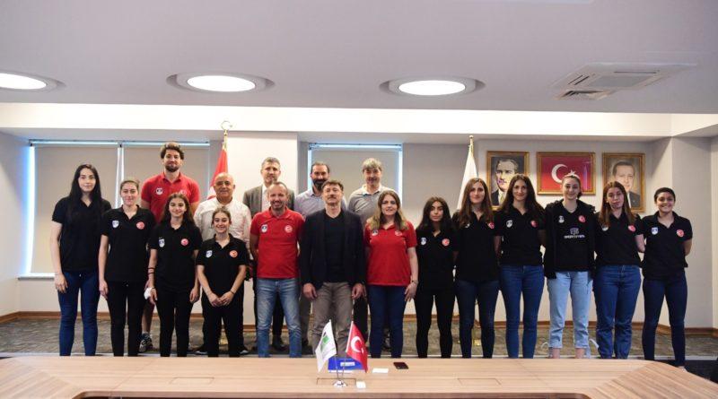 TVF Kadın Voleybol Takımımızın 1. Lig Öncesi Ziyareti