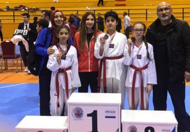 Taekwondoda Üç Madalya