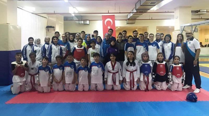 Kuveyt Taekwondo Takımı İle Antrenman