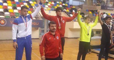Sporcumuz Gümüş Madalya Kazandı
