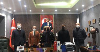 Ragbi Federasyonu Başkanı Murat Pazan Ziyareti